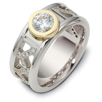 Item # A122411 - 14K Gold Diamond Wedding Band
