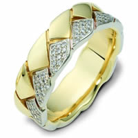 Item # A122611 - 14K Gold Diamond Wedding Band