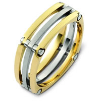 Item # A123571 - 14K Two Tone WeddingBand