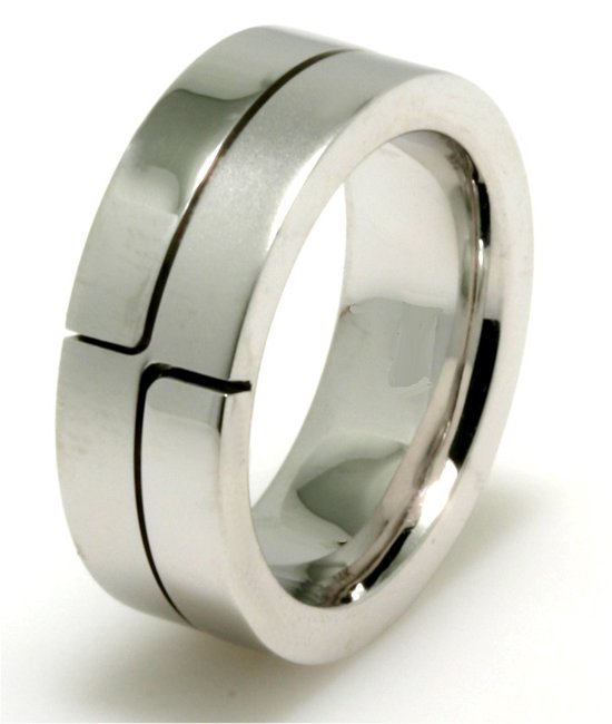 Item # A124731WE View 2 - 18K White Gold Wedding Band.