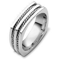 Item # A125581AG - 925 Silver Wedding Band