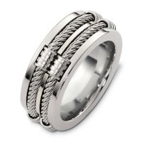 Item # A125921AG - Sterling Silver , Wedding band