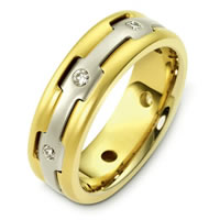 Item # B124881 - 14K Gold Diamond Wedding Band