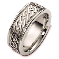 Item # B125771WE - Celtic Wedding Band.