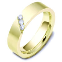 Item # C116681E - 18K Gold Diamond Wedding Band