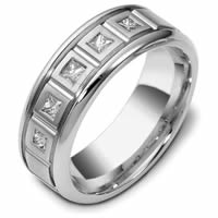 Item # C119271PD - Palladium Diamond Wedding Band