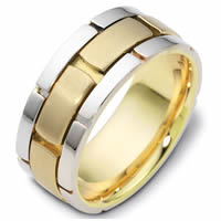 Item # C122041 - 14K Two-Tone Gold Wedding Band