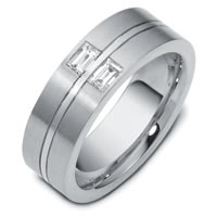 Item # C123541PP - Platinum Diamond Wedding Ring