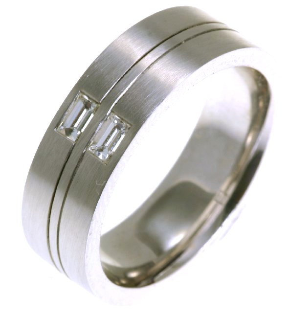 Item # C123541WE View 2 - Diamond Wedding Ring