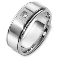 Item # C123751PP - Platinum Diamond Wedding Band.