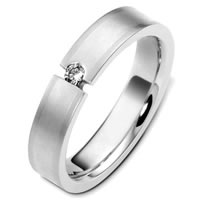 Item # C124571PD - Palladium Diamond Wedding Band