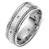 Item # C124581W - Diamond Wedding Band.