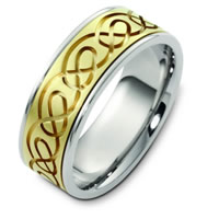 Item # C125221PE - Celtic Wedding Band.