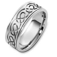Item # C125221W - Celtic Wedding Band