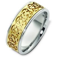 Item # C125231PE - Celtic Wedding Band.