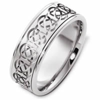 Item # C125231W - Celtic Wedding Band.