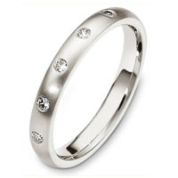 Item # C130301PD - Palladium Diamond Wedding Band