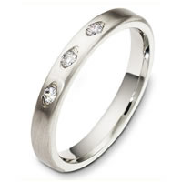 Item # C130311PD - Palladium Diamond Wedding Ring