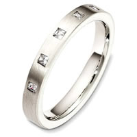 Item # C130631PD - Palladium Diamond Band