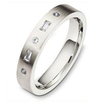 Item # C130711PP - Platinum Diamond Wedding Band