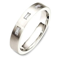 Item # C130721PD - Palladium Diamond Band