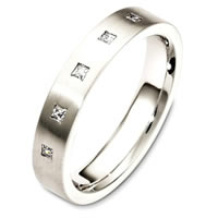 Item # C130731PD - Palladium Diamond Wedding Band