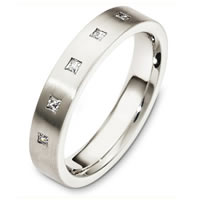 Item # C130731PP - Platinum Diamond Wedding Band