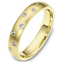 Item # C130981E - 18K Diamond Wedding Band