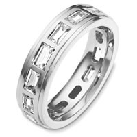 Item # C131701W - Diamond Eternity Band 14K White Gold
