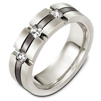 Item # C131971TE - Titanium Diamond Wedding Band