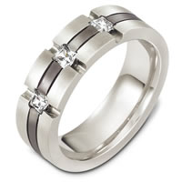 Item # C131971TG - Titanium Diamond Wedding Band