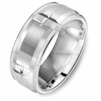 Item # C15082C - Cobalt Chrome Wedding Ring