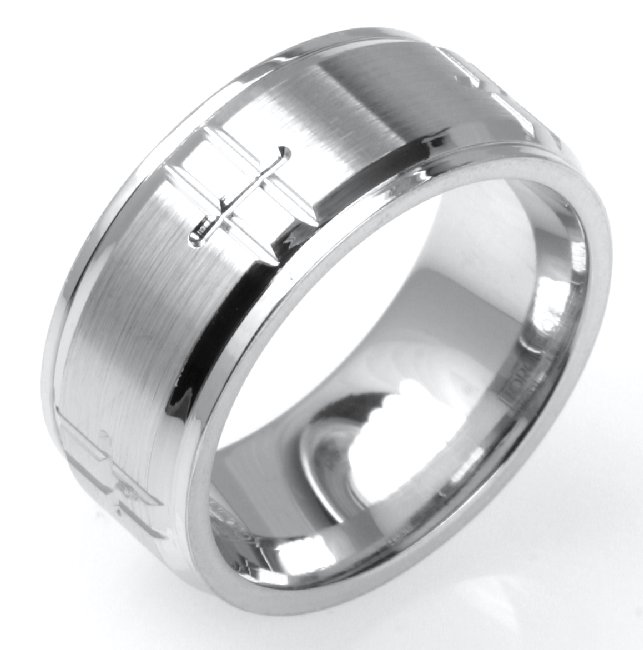 Item # C15082C View 2 - Cobalt Chrome Wedding Ring