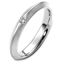 Item # E124981PD - Palladium Diamond Wedding Band