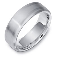 Item # E133301PD - Palladium Wedding Band