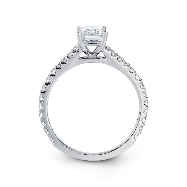 Item # E31928W View 2 - Classic Diamond Engagement Ring