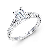 Item # E31928W - Classic Diamond Engagement Ring