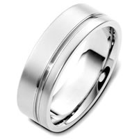 Item # F125751PD - Palladium Classic Wedding Band