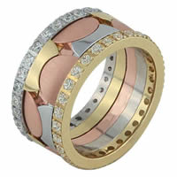Item # F3084012DE - 18K Diamond Wedding Band