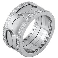 Item # F3084012DWE - 18K Diamond Wedding Ring