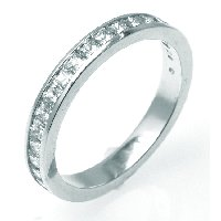 Item # G1010W - 14K Diamond Wedding Band