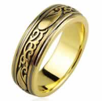 Item # H112418 - 14K Designer Wedding Band
