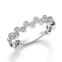 Item # M31880PP - Platinum 0.50 Ct Tw Diamond Stackable Ring