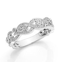 Item # M31906WE - 18Kt White Gold 0.32 Ct Tw Diamond Ring
