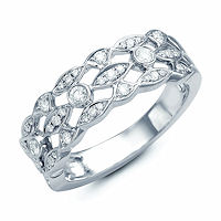 Item # M31908PP - Platinum 0.30 Ct Tw Diamond Ring