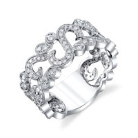 Item # M32097PP - Platinum 0.55 Ct Tw Diamond Fashion Ring
