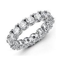Item # MS20040W - Diamond Eternity Wedding Band