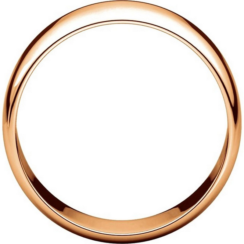 Item # S38457R View 2 - 14K Rose Gold 8.0mm Wide Wedding Band
