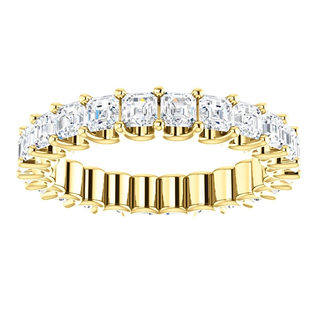 Item # SA128869240E View 3 - 18K Gold Eternal-Love Eternity Band. 2.40ct
