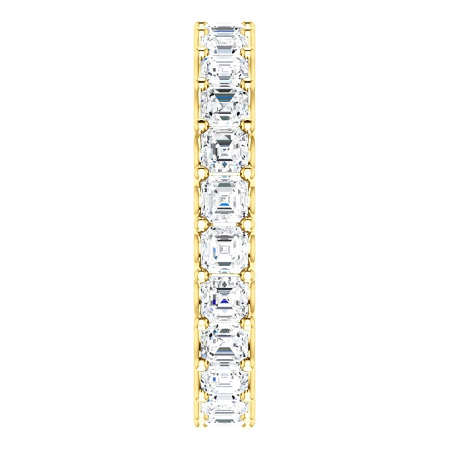 Item # SA128869240E View 4 - 18K Gold Eternal-Love Eternity Band. 2.40ct